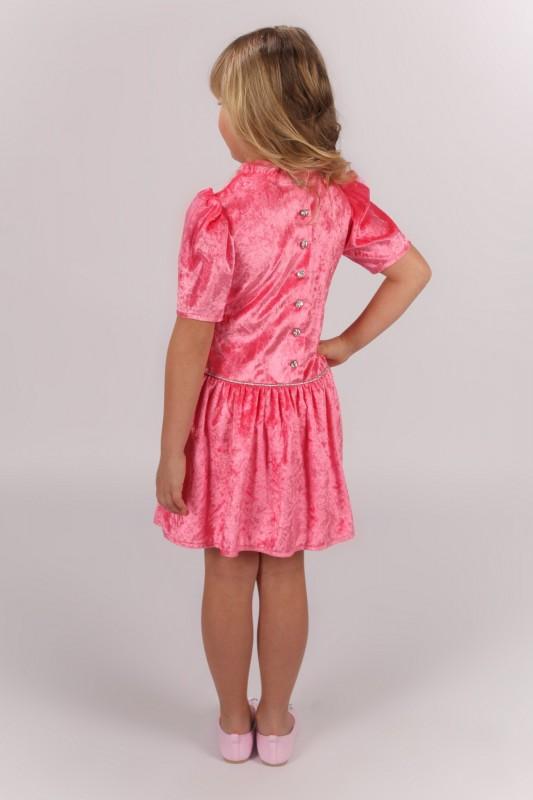 Mädchen-Kinder-Kleid Dornröschen pink - Dini Door